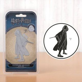imagen Hermione Granger collection Harry Potter. Troquel + sello de la cara