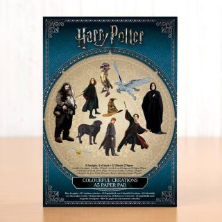 imagen Harry Potter A5 Scene Building Pad 32 Sheets