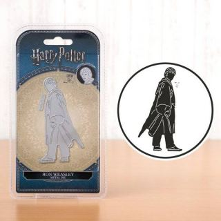 imagen Ron Weasley collection Harry Potter troquel + sello de la cara