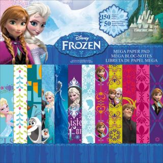imagen Disney Single-Sided Mega Paper Pad 12 FROZEN