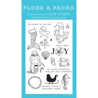 imagen Flora & Fauna Clear Stamps 4