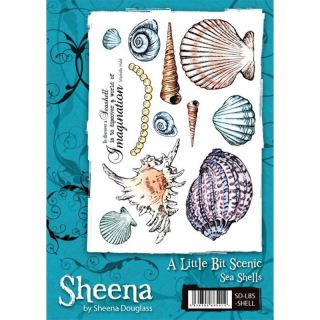 imagen Sheena Douglass A5 Stamp Set - Sea Shells