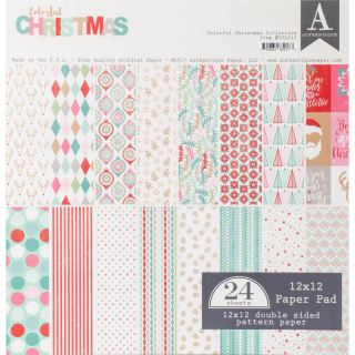 imagen Authentique Double-Sided Cardstock Pad 12