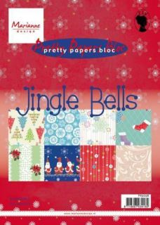imagen MARIANNE DESIGNS JINGLE BELLS A5 BLOC