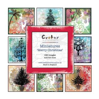 imagen Crafty Individuals Miniature Image Book Merry Christmas