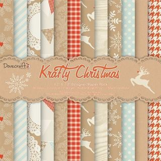 imagen Dovecraft Krafty Christmas Craft Collection - 12x12
