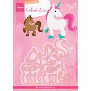 imagen Marianne Design Horse & Unicorn Collectable