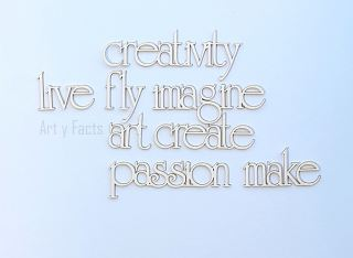 imagen Creativity words (set)