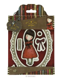 imagen Santoro Gorjuss Girls Urban Stamp (9pcs) - The Black Star