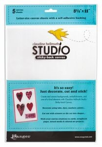 imagen Claudine Hellmuth sticky back canvas (5 pcs)